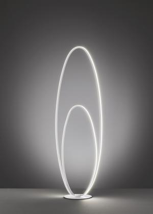 WOFI Stojací lampa NIA 1x LED 25W 1700lm 3000K bílá 11309
