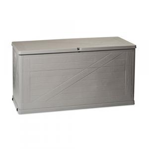 Wood záhradný úložný box 420 l sivá