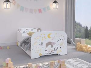 WT Detská posteľ Palermo 160x80 - mačka