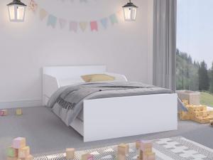 WT Detská posteľ Palermo II - biela Rozmer lôžka: 180x90