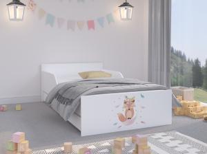 WT Detská posteľ Palermo II - líška Rozmer lôžka: 160x80