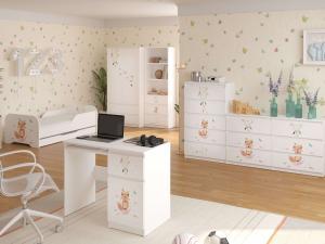 WT Písací stôl Palermo - líška