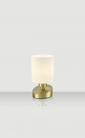 Xora STOLOVÁ LAMPA, E14, 10/22 cm - opál