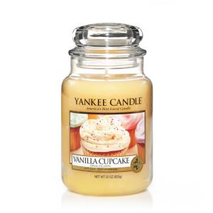 YANKEE CANDLE 1093707E SVIECKA VANILLA CUPCAKE/VELKA