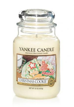 YANKEE CANDLE 115504E SVIECKA CHRISTMAS COOKIE/VELKA