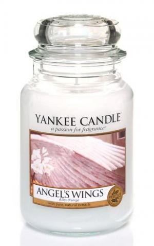 Vonná sviečka Yankee Candle - Angel´s wings Veľkosť sviečky: Veľká