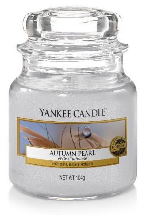 Vonná sviečka Yankee Candle - Autumn pearl Veľkosť sviečky: Malá
