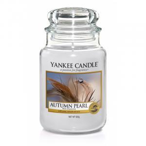 Vonná sviečka Yankee Candle - Autumn pearl Veľkosť sviečky: Veľká