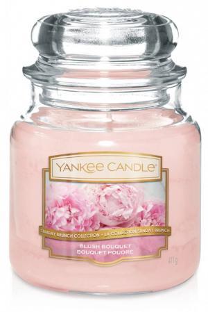 Vonná sviečka Yankee Candle - Blush bouquet Veľkosť sviečky: Stredná