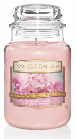 Vonná sviečka Yankee Candle - Blush bouquet Veľkosť sviečky: Veľká