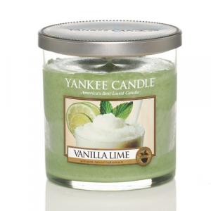 Vonná pillar sviečka Yankee Candle - Vanilla lime Veľkosť sviečky: Malá