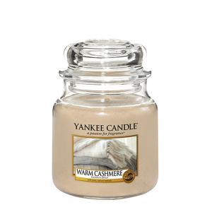 Yankee Candle vonná svíčka Warm Cashmere Classic stredná