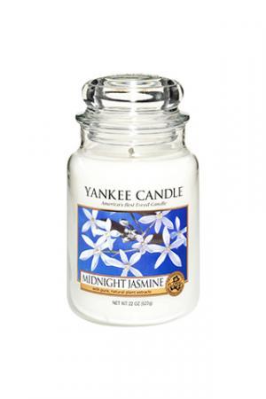 Yankee Candle vonná sviečka Midnight Jasmine Classic veľká