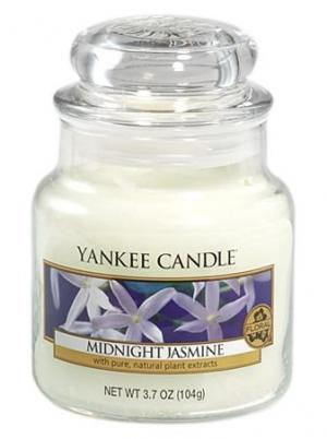 Yankee Candle vonná sviečka Midnight Jasmine Classic malá