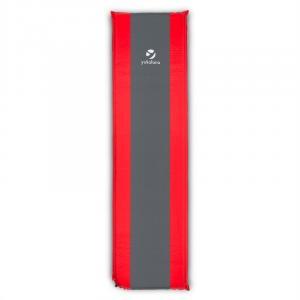 Yukatana Gooddream 7, nafukovací matrac/karimatka, 7cm, samonafukovací, červeno-sivý
