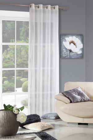 Záclona 140x250 cm - Eurofirany - Anabel (biela). Akcia -9%. Sme autorizovaný predajca Eurofirany.