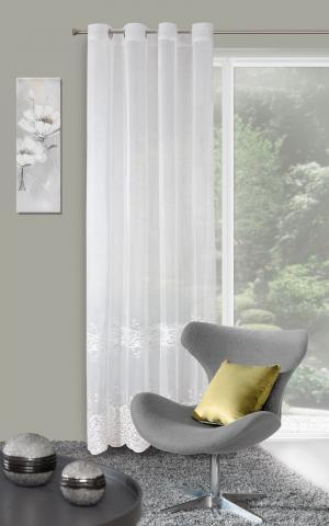 Záclona 140x250 cm - Eurofirany - Curly (krémová). Akcia -9%. Sme autorizovaný predajca Eurofirany.