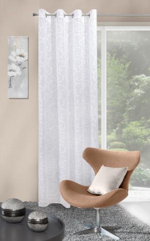 Záclona 140x250 cm - Eurofirany - Marisa (biela). Akcia -8%. Sme autorizovaný predajca Eurofirany.