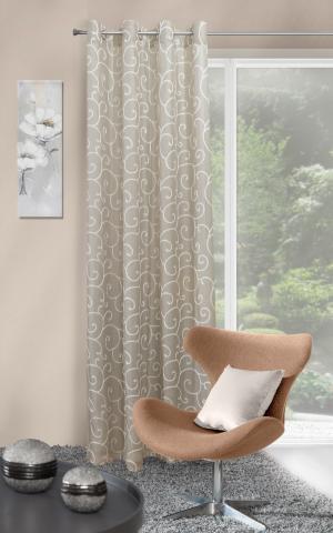 Záclona 140x250 cm - Eurofirany - Marisa (olivová). Akcia -8%. Sme autorizovaný predajca Eurofirany.