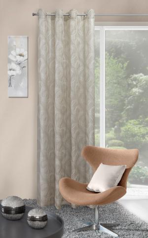 Záclona 140x250 cm - Eurofirany - Tamina (olivová). Akcia -8%. Sme autorizovaný predajca Eurofirany.