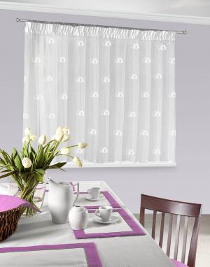 Záclona 400x145 cm - Eurofirany - Eleonora2 (biela). Akcia -9%. Sme autorizovaný predajca Eurofirany.