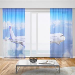 Záclony Lietadlo (Rozměr záclony: 150x250)