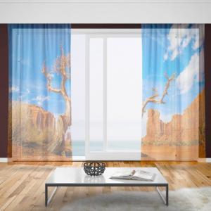 Záclony Púšť (Rozměr záclony: 150x250)