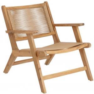 Záhradná stolička z akáciového dreva La Forma Geralda