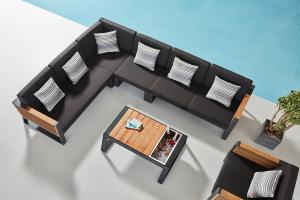 Záhradná zostava HIGOLD - New York Corner Lounge Olefin
