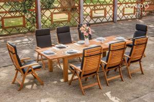 Záhradná zostava Manhattan 2 - stôl + 8 kresiel