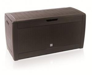 Zahradní box RATANO 119 cm - 310 L hnědý