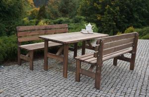 Zahradní dřevěný stůl MIRIAM