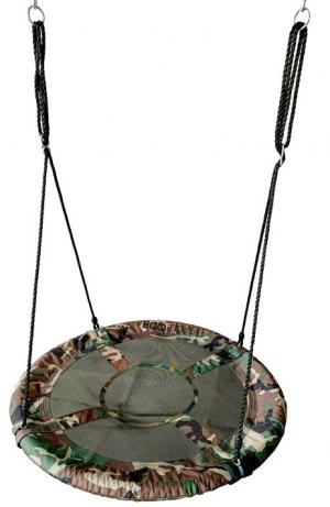 Zahradní houpačka GERRA EcoToys 100 cm zelená