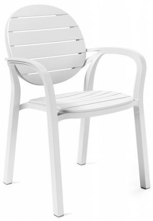 Zahradní židle Nardi Palma bílá