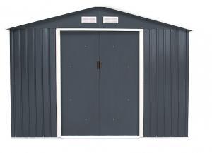 Záhradný domček plocha 277 x 255 cm (šedá)