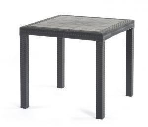 Záhradný jedálenský stôl GRENADA Farba: tmavosivá