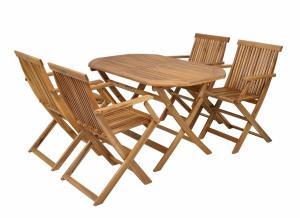 Záhradný nábytok Hecht Basic set 4 (akácia)