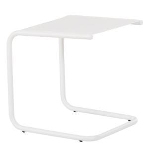 Záhradný príručný stolík FIAM CLUB | biela