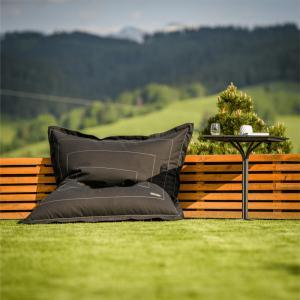 Záhradný sedací vak BADYL sivá Tempo Kondela