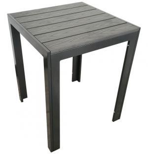 Záhradný stôl Cadiz 60x60 cm, antracit/šedý