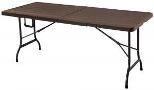 Záhradný stôl Petra - hnedý