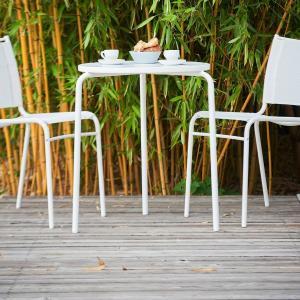 Záhradný stolík EASY | čierna