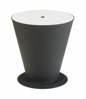Záhradný stolík HIGOLD - ICOO Black/White