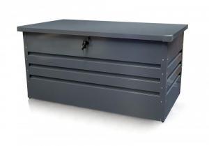 Záhradný úložný box 400l kovový Dekorhome