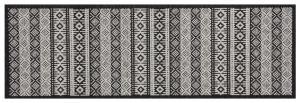 Zala Living - Hanse Home koberce Běhoun Authenti Cook & Clean 103368 creme black - 60x180 cm