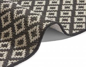 Zala Living - Hanse Home koberce Kusový koberec Harmony Black Wool 103316 - 76x200 cm
