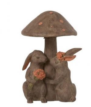 Zamilovaní králiky pod hubou - 16 * 22.5cm