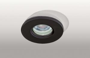 Zápustné - podhľadové svietidlo AZZARDO Ika R IP65  black AZ3017