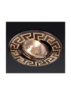 Zápustné - podhľadové svietidlo REDO ELC 329 GOLD BROWN  70099