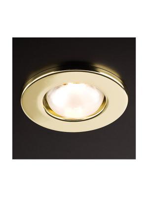 Zápustné - podhľadové svietidlo REDO FR 39 zlatá E14     70216